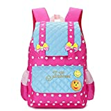 EssVita Zaini Scuola Daypack per Elementare Ragazze Stile B Rosa Blu