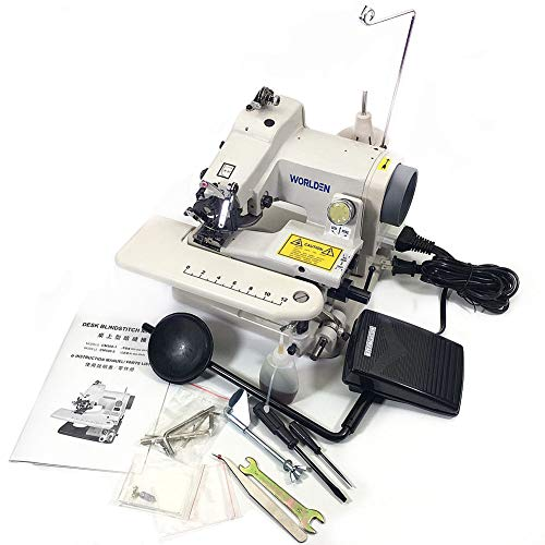 WD-500 Portable Blind Stitch Hemming Machines Alterations Hem Pants - Dressmaker Sewing Machine Desk Blindstitch Hemmer