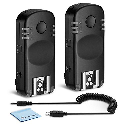Powerextra Professional Wireless Flash Trigger Compatible with Nikon DSLR D7200, D7100, D7000, D5300, D5200, D5100, D5000, D3200, D3100, D610, D600, D90, D53,D750 P7700, P7800 etc