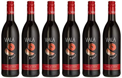 Viala Sweet Rosso (6 x 0.75 l)