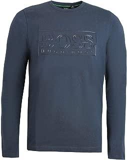 Hugo Boss Long Sleeve t-Shirt Togn Logo with Reflective Logo Artwork 50414062 410