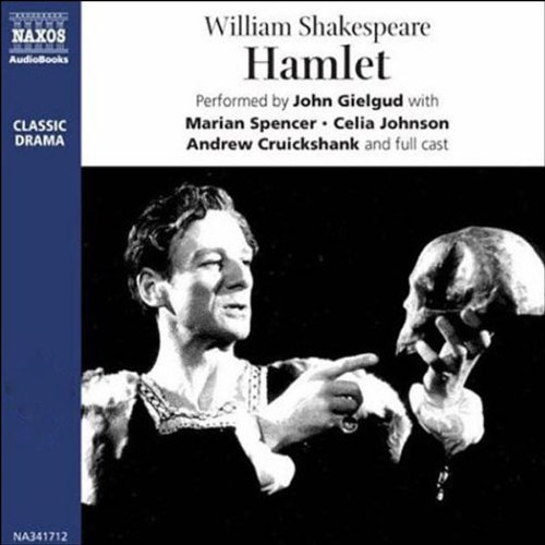 John Gielgud's Hamlet (Dramatized) audiobook cover art