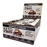 Keto Wise Cookies n Cream Fat Bombs 34g (Pack of 16)