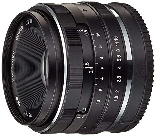 Meike Optics 20770004Lente 25mm f1.8Canon M Negro
