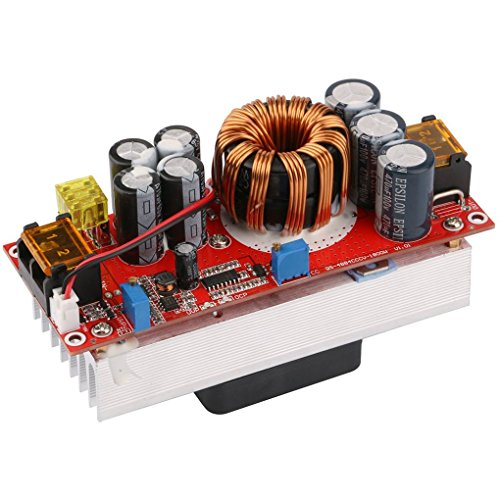 Vokmon 1500W DC-DC Step-Up convertidor del Alza 10-60V a 12-97V 30A de Corriente Constante Fuente de alimentación del LED del módulo Controlador de Voltaje de la energía Borad