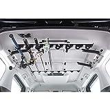 カーメイト ロッドホルダー inno 釣り竿 車載 ホルダー 確実ホールドのクランプ式 8本積み ミニバン 大型SUV 向け ワイドタイプ IF18