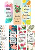 Sangra Printed Bookmarks of Synthetic Paper | Book Lovers Gift | Gift