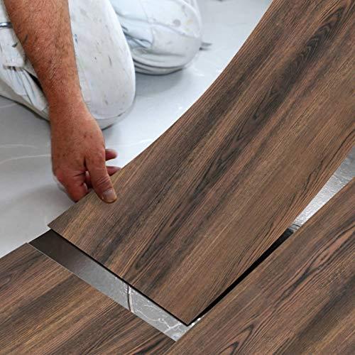 Enipate Selbstklebende Bodenfliesen-Aufkleber, Abdeckungen, wasserdicht, PVC, für Badezimmer, Küche und alle flachen Böden, 20 x 300 cm, A