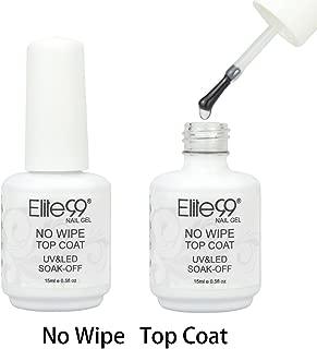 Elite99 Soak Off No Wipe Top Coat Gel Polish UV LED Nail Art Care Manicure 15ml