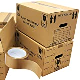 20 Strong Cardboard Boxes 47cm x 31.5cm x 25cm 44 litres Packing Shipping
