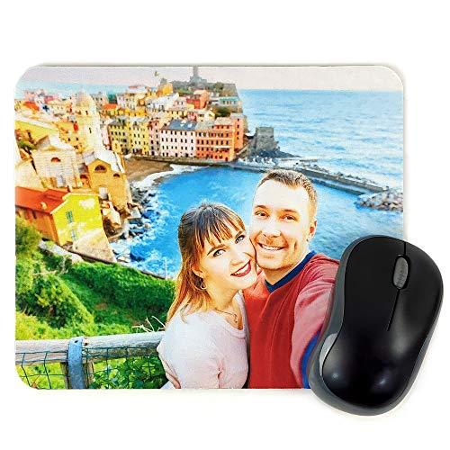 LolaPix Alfombrilla Raton Personalizada con Foto. Regalos Personalizados con Foto. Varios Modelos. 18X22. Rectangular