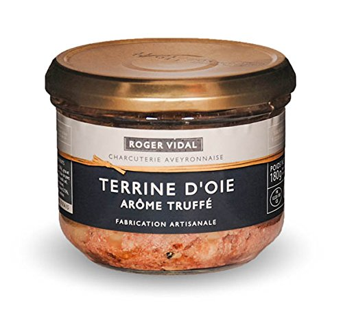 Roger Vidal - Pastete Gans mit Trüffelsaft (Terrine d'Oie arôme Truffé) 180 g