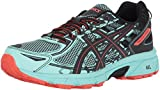 ASICS Women's Gel-Venture 6 Running-Shoes,Ice Green/Black/Cherry Tomato,7.5 Medium US
