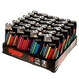 24 Djeep Lighters Slant Tray - Rainbow Tech