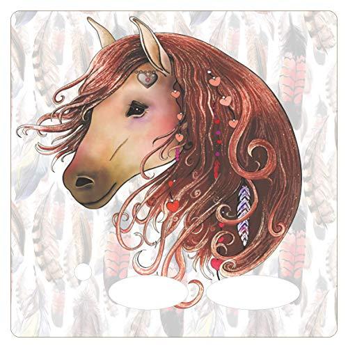 Farbklecks Collection - Folie für Musikbox – Liebes Pferd