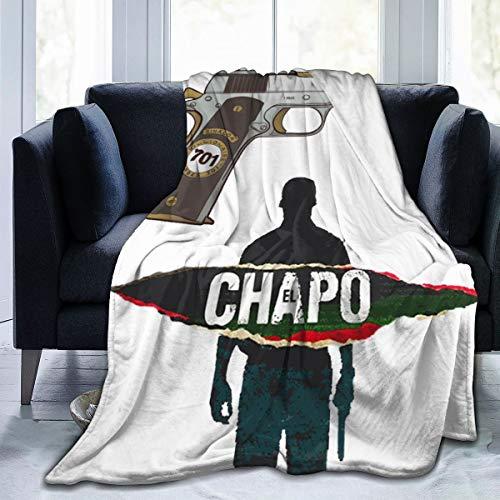 964 Children Wrinkle Resistant El Cha-Po Fleece Blanket Very Suitable Nap 50'X40'
