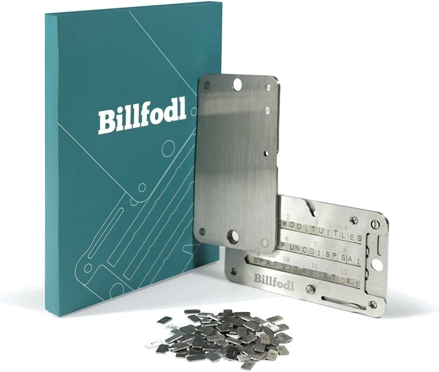 Billfodl MNEMONIC Private Key cold storage wallet for cryptocurrency