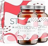 PIPER NIGRUM STRONG extra forte per donna e uomo | Integratore Con Piperina, Capsimax, Guarana, Colina e Vitamina B3 | 100% naturale
