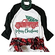 Nailyhome Vintage Holiday Unisex Funny Raglan T-Shirt Adult & Youth