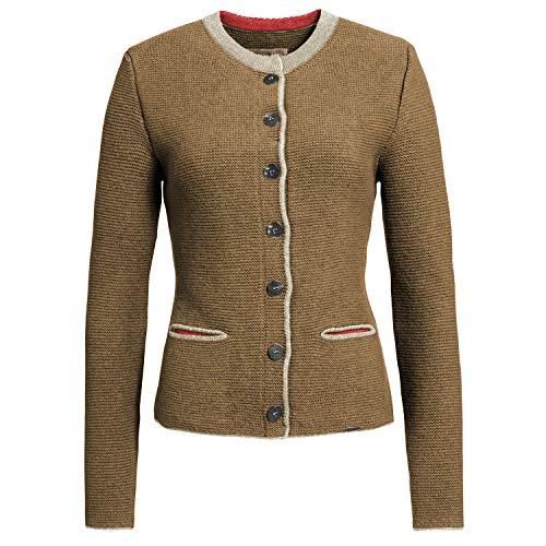 GIESSWEIN Strickjacke Joan - Damen Jacke aus 100% Lammwolle | Trachtenjacke | atmungsaktive Schurwolle | warme Strick Jacke Damen