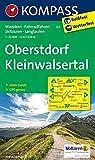 Oberstdorf, Kleinwalsertal: Wanderkarte mit Aktiv Guide, Radwegen, Loipen und alpinen Skitouren. GPS-genau. 1:25000: Wandelkaart 1:25 000 (KOMPASS-Wanderkarten, Band 3) - KOMPASS-Karten GmbH