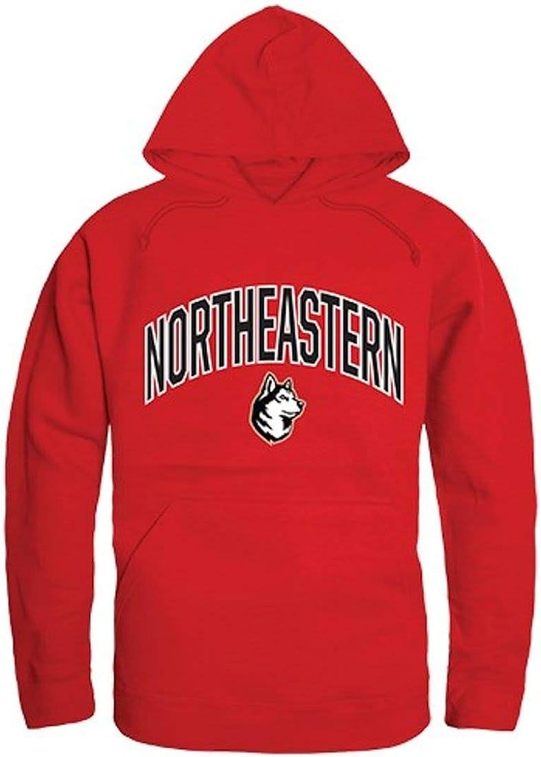 Northeastern University Huskies Campus Hoodie Sweatshirt Red