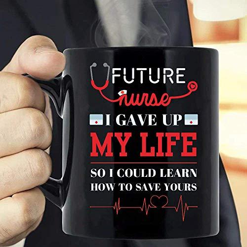 N\A Futura Enfermera, renuncié a mi Vida para Poder Aprender a Salvar la Tuya Taza