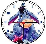 RUSCH Eeyore from Winnie Pooh Wall Clock