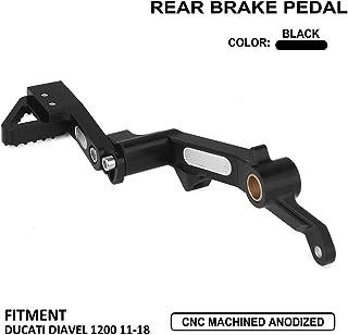 Motorrad Bremspedal hinten Hebel Fuß CNC für DUCATI DIAVEL 1200 2011–2018 (OEM)