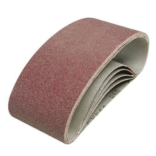 25 Stück Gewebe Schleifbänder 75x457 mm Schleifband f Bandschleifer Korn 40-180