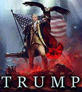 MAGNET President Trump MAGA GOP 2020 Patriotic Eagle Magnet Decal Fridge Metal Magnet Window Vinyl 5