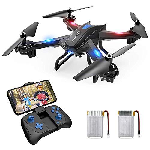 SNAPTAIN S5C Drohne mit Kamera 720P WiFi FPV Fernbedienung WiFi APP, mit Gestensteuerung, Flugbahn, 360° Flips für Anfänger und Kinder