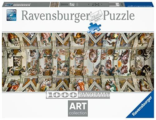 Ravensburger - Arte: La Capilla Sixtina, Puzzle de 1000 Piezas (15062 5)
