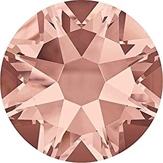 2000, 2058 & 2088 Swarovski Flatback Crystals Non Hotfix Blush Rose | SS5 (1.8mm) - Pack of 50 | Small & Wholesale Packs