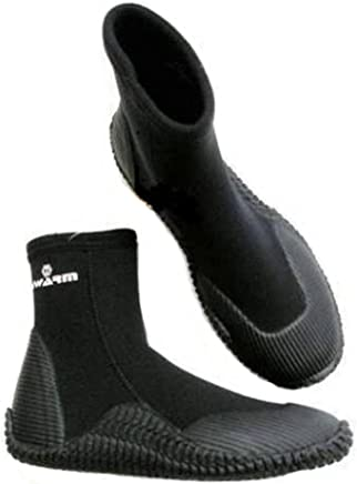 Typhoon Swarm 5mm Neoprene Wetsuit Boots for Canoe Kayak Surfing Diving & Jetski : boots