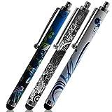 Seluxion - Pack de 3 Stylets universels avec Motifs HF08, HF09, HF18 pour Tablette...