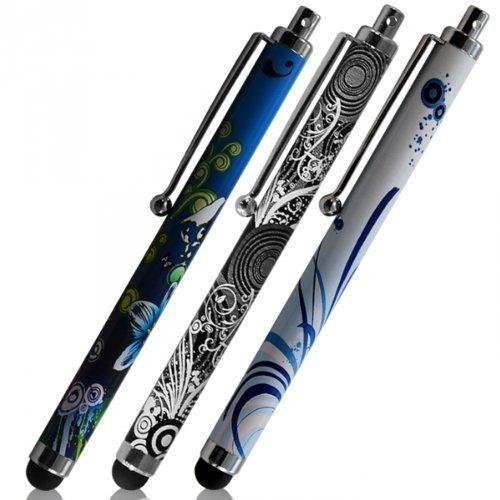 Seluxion HF08, HF09 y HF18 - Pack de 3 lápices universales para tablet táctil Xiaomi MiPad 3 de 7,9 pulgadas