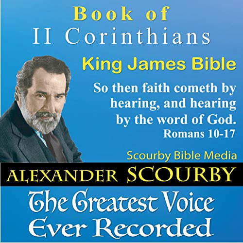 Book of II Corinthians, King James Bible audiobook cover art