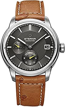 Eterna Adventic GMT Automatic Anthracite Dial Men's Watch