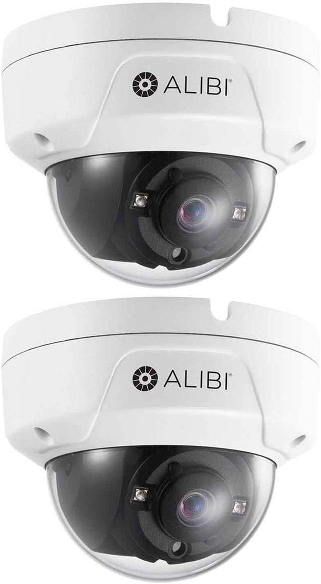 Alibi 2 Pack 5.0MP HD-TVI Bombing free shipping Day Night Dome Outdoor Mesa Mall Vandalproof S