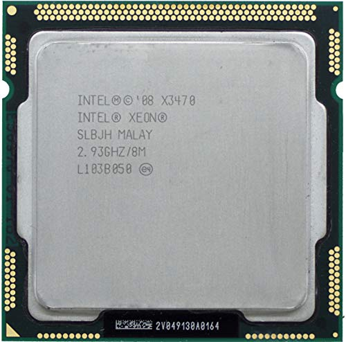 Prozessor CPU Intel Xeon Quad Core X3470 2,93 GHz U LGA1156 SLBJH Server-Pc