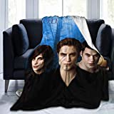SDINAZ The Twilight Saga Sherpa Throw Blanket Personalized Cozy Lightweight Soft Blanket for Adults and Children (50in60in)