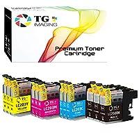 (12パック) TG Imaging 互換 (LC203XL 高ページ印刷可能) LC203 インクカートリッジ Brother MFC-J460DW、MFC-J480DWプリンター用 (3B+3C+3Y+3M)。
