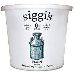 Siggi's, Non-Fat Icelandic Style Yogurt, Plain, 24 oz