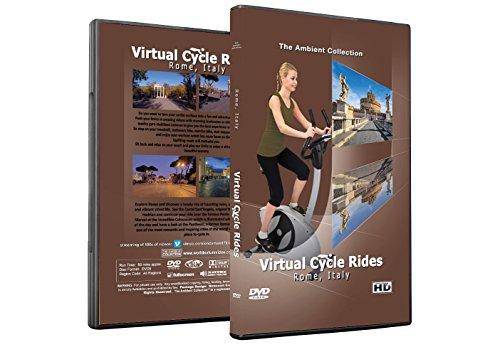 Virtuelle Fahrradtouren DVD - Rom, Italien - für Indoor Radfahren, Laufband und Jogging Workouts