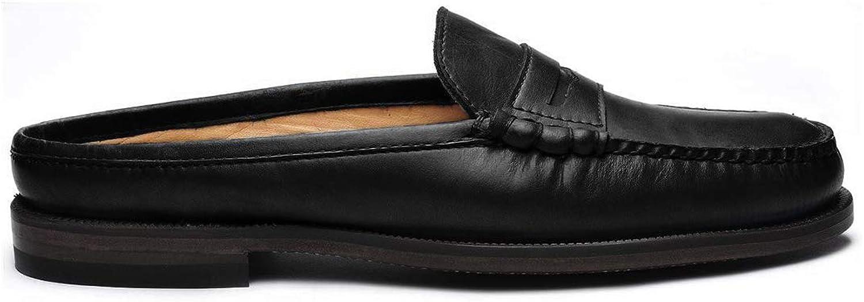 Sebago Woherren Dan Clog Clog Leather Slip-Ons  100% versandkostenfrei