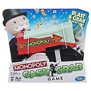 Hasbro Gaming MONOPOLY Cash Grab Juego