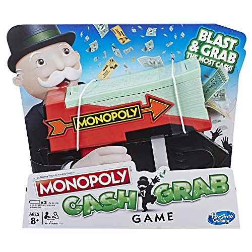 Hasbro Gaming Monopoly Cash Grab Spiel