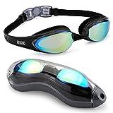 Aegend Schwimmbrille, dicht, Anti-Beschlag-Schutz, UV-Schutz, inkl. Etui, Taucherbrille für...