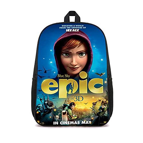 ASFDF Mochila Epic Travel Mochila informal de moda para adolescentes para niños, niñas, adultos, adolescentes, 41x12x28cm